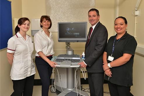 First UK HELX Evolution ultrasound installs at The Pennine Acute Hospitals NHS Trust